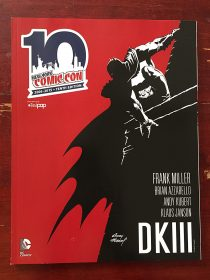 New York Comic Con 10th Anniversary Program Guide with Andy Kubert Batman Cover Art