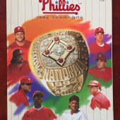 Philadelphia Phillies 1994 Baseball Yearbook John Kruk Darren Daulton Dykstra