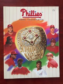 Philadelphia Phillies 1994 Baseball Yearbook John Kruk Darren Daulton Dykstra
