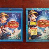 Walt Disney Pinocchio 70th Anniversary 2-Disc Blu-ray Platinum Edition