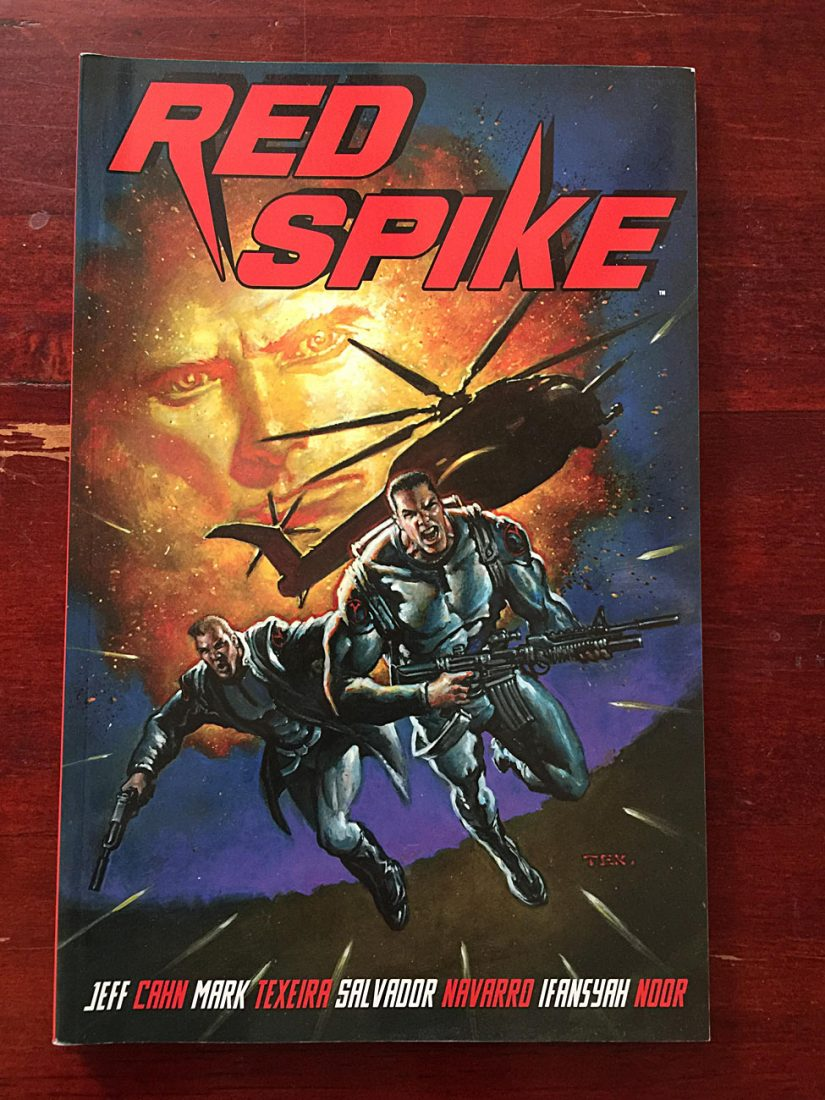 Red Spike Volume 1 Trade Paperback (2012)