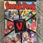VIZ Media Sneak Peek Graphic Novel Manga Anime Compilation (2007)