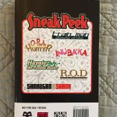 VIZ Media Sneak Peek Graphic Novel Manga Anime Compilation (2007)