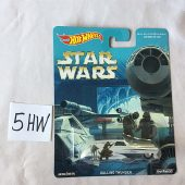 Hot Wheels Ralph McQuarrie Star Wars Die-Cast Metal Rolling Thunder Vehicle
