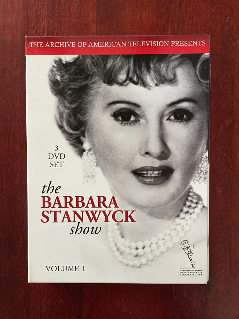 The Barbara Stanwyck Show: Volume 1 – 3-DVD Box Set