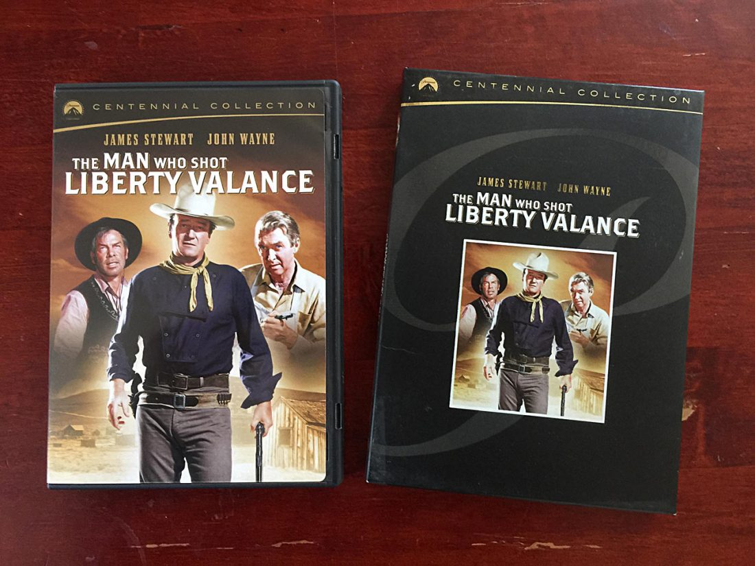 The Man Who Shot Liberty Valance Centennial Collection Special Edition