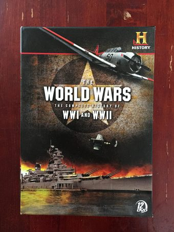 The World Wars: The Complete History of WWI and WWII 12-Disc DVD Box Set