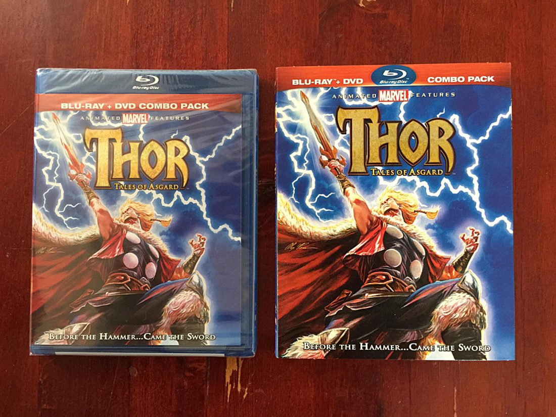 Thor: Tales of Asgard Blu-ray + DVD Combo Pack