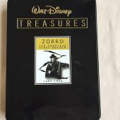 Walt Disney Treasures Zorro: The Complete First Season Metal Tin Collector's Edition (1957-1958)