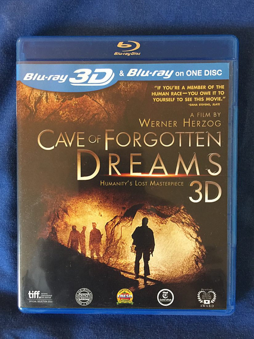 Werner Herzog's Cave of Forgotten Dreams in 3D Blu-ray Edition
