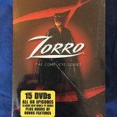 Zorro The Complete Television Series 15-DVD Box Set Classic Show