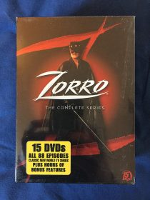 Zorro The Complete Television Series 15-DVD Box Set Classic Show