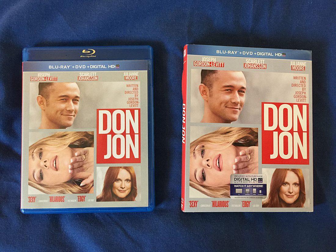 Don Jon 2-Disc Blu-ray + DVD + Digital Edition