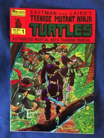 Teenage Mutant Ninja Turtles Authorized Martial Arts Training Manual Number # 1 (1986)
