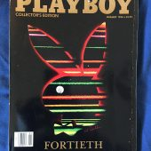 Playboy Magazine Collector's Edition Fortieth Anniversary Issue (January 1994)