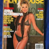 Penthouse Magazine (June 2002) Anna Kournikova, Kid Rock