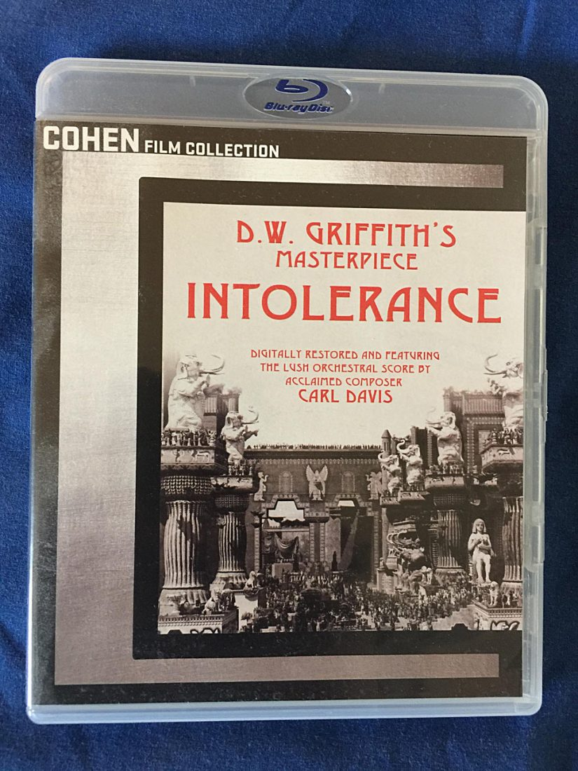 D.W. Griffith's Intolerance 2-Disc Blu-ray Special Edition