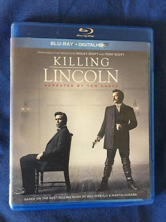 Killing Lincoln – Narrated by Tom Hanks Blu-ray + Digital HD Edition