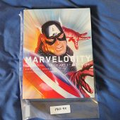 Marvelocity: The Marvel Comics Art of Alex Ross SIGNED Hardcover Edition + Black Panther Print