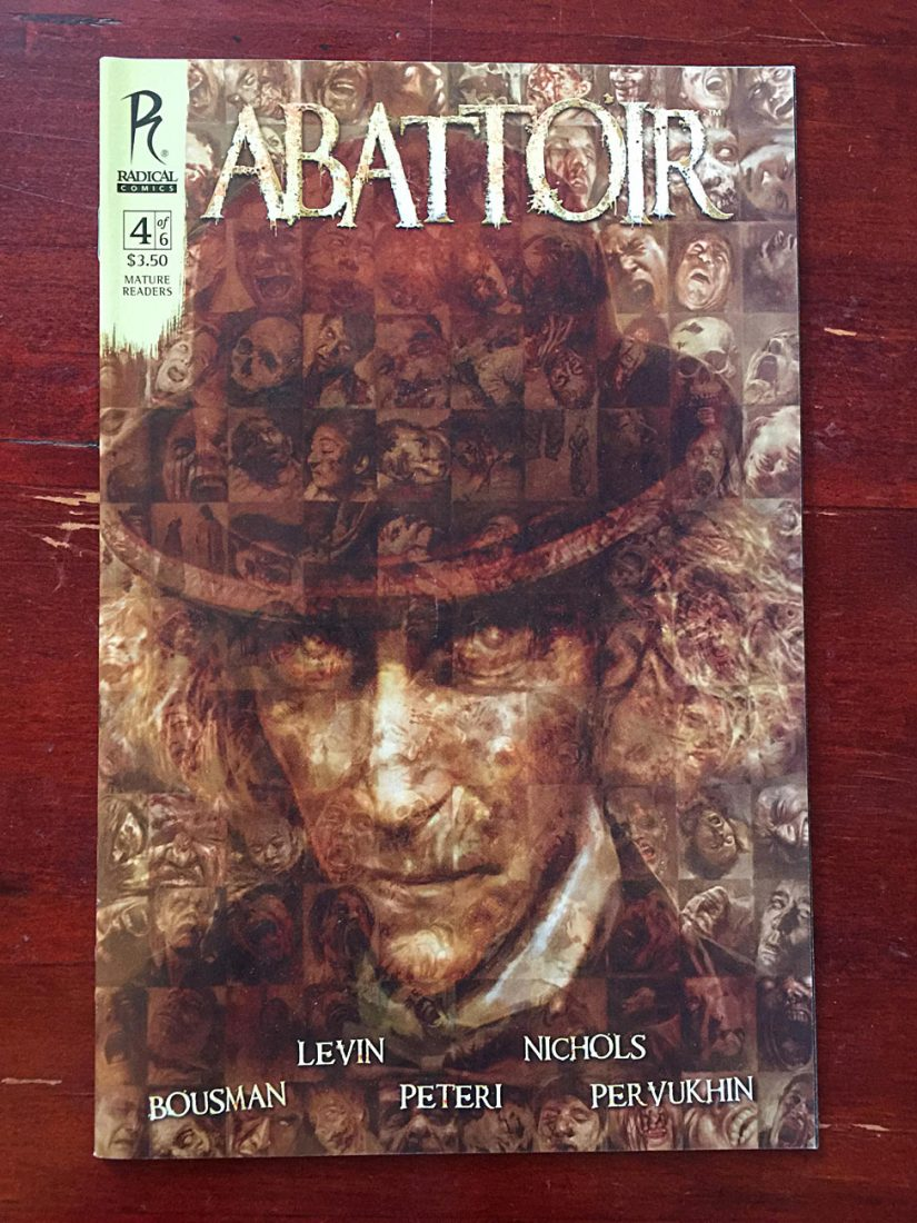 Abattoir Comic Number 4 Radical Comics (2011)