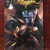 Aladdin: Legacy of the Lost Comic Number 1 Radical Comics (April 2011)