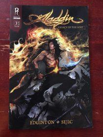 Aladdin: Legacy of the Lost Comic Number 3 Radical Comics (April 2010)