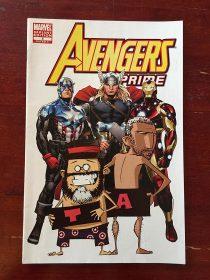 Avengers Prime Comic Marvel Variant Edition No. 3 (November 2010)