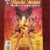The Barbi Twins Adventures Topps Comics Number 1 (July 1995)
