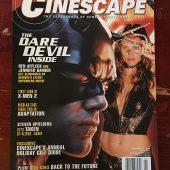 Cinescape Magazine (January 2003) Ben Affleck, Jennifer Garner