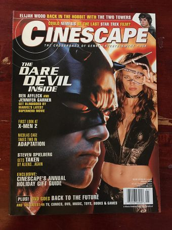 Cinescape Magazine (January 2003) Ben Affleck, Jennifer Garner