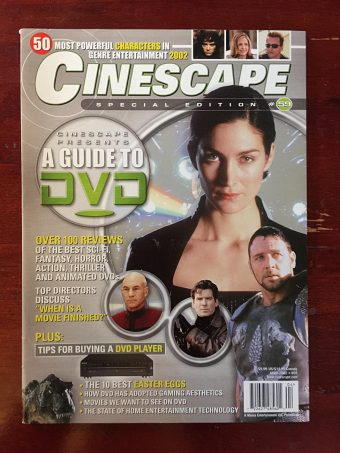 Cinescape Magazine Special Edition Number 59 (April 2002) Guide to DVD, Carrie-Anne Moss