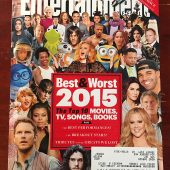 Entertainment Weekly Magazine Best and Worst 2015 (December 18, 2015)