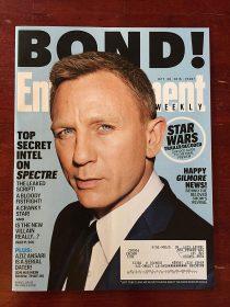Entertainment Weekly Magazine (October 30, 2015) Daniel Craig