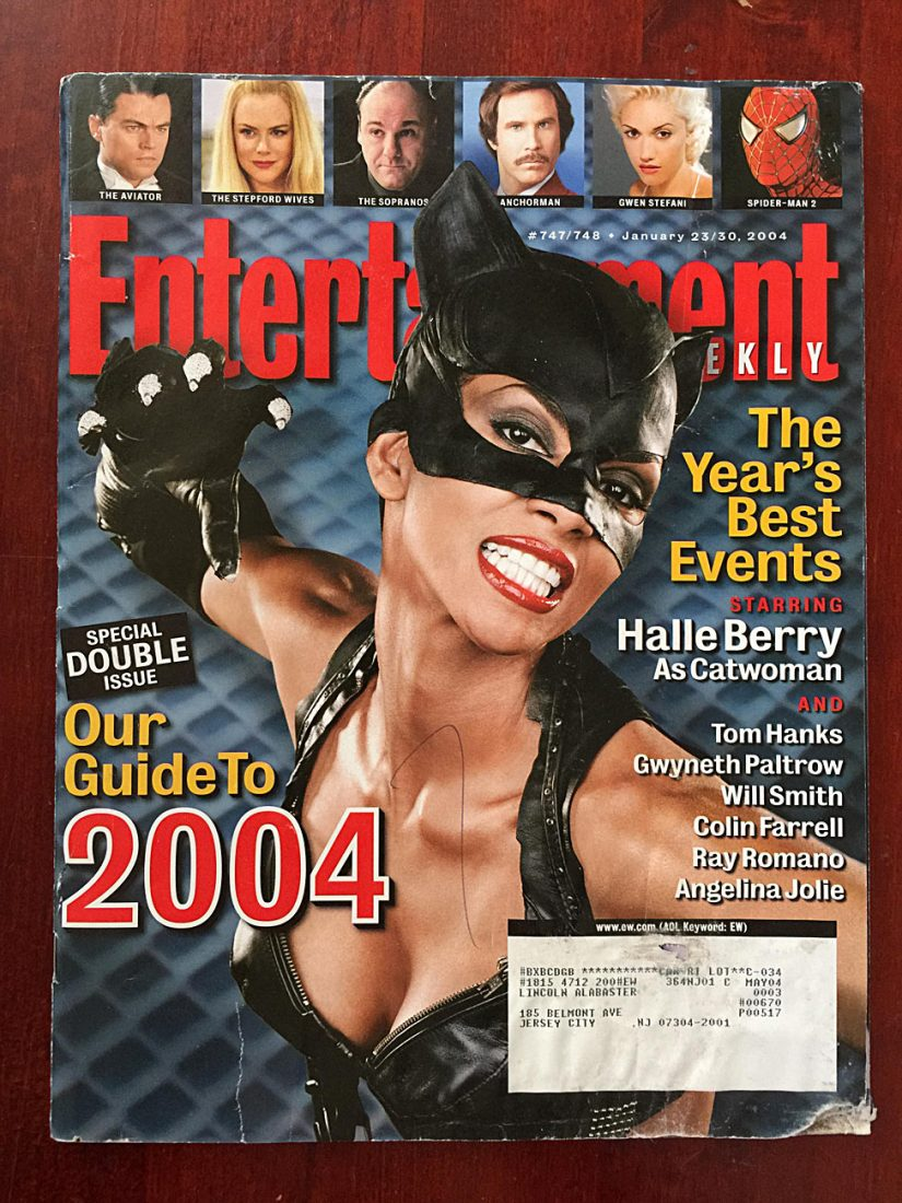 Entertainment Weekly Magazine (January 23, 2004) Halle Berry
