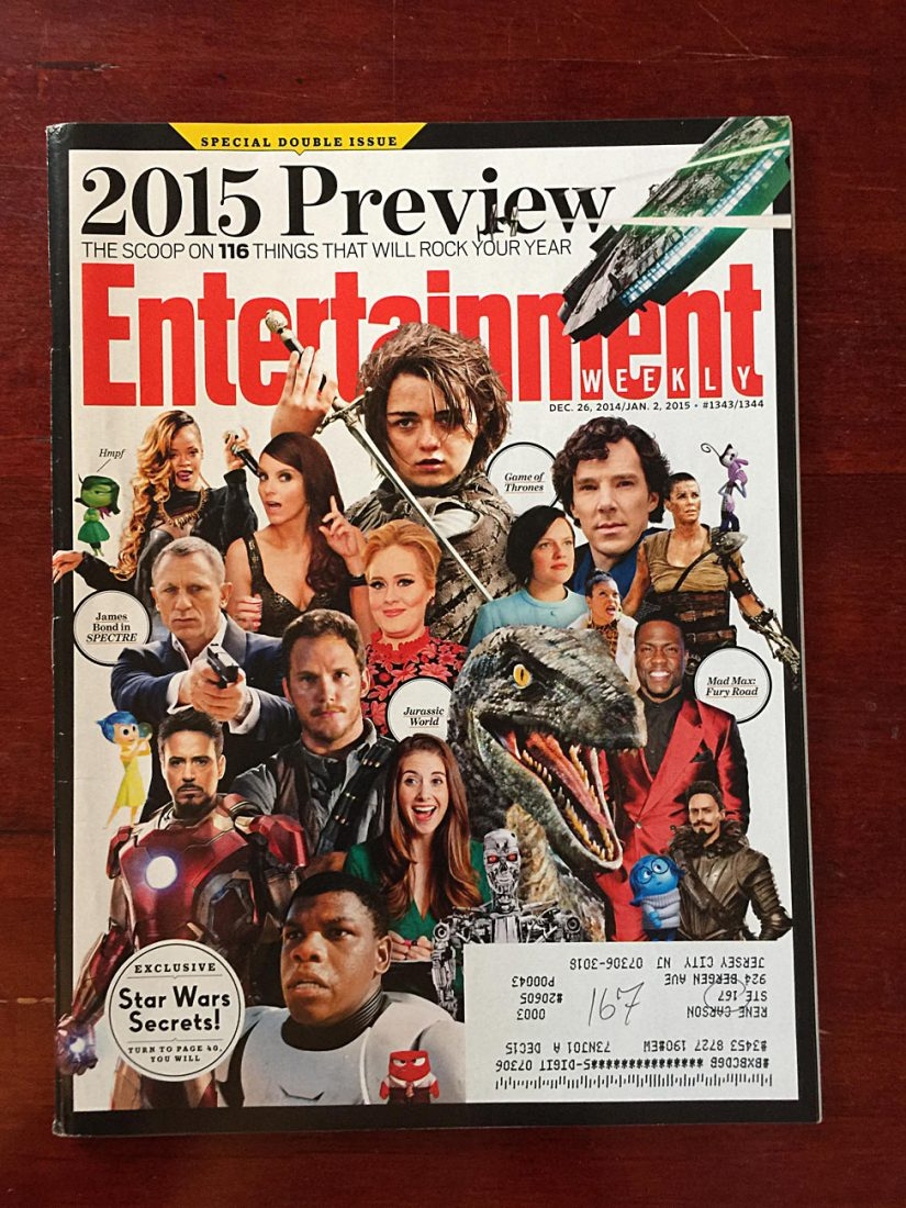 Entertainment Weekly Magazine (December 26, 2014) Special 2015 Preview Double Issue