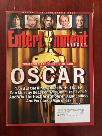 Entertainment Weekly Magazine (February 6, 2004) Special Collector's Double Issue Guide to Academy Awards