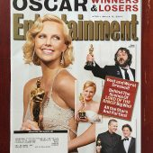 Entertainment Weekly Magazine (March 12, 2004) Charlize Theron, Peter Jackson, Renee Zellweger, Tim Robbins, Sean Penn