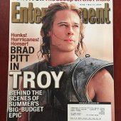 Entertainment Weekly Magazine (May 14, 2004) Brad Pitt, Troy