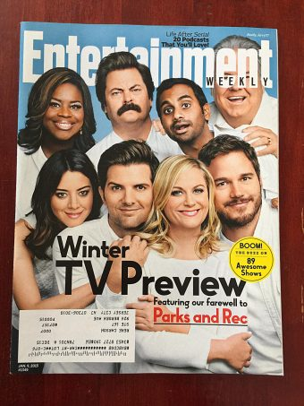 Entertainment Weekly Magazine (January 9, 2015) Parks and Recreation Farewell