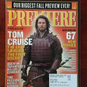 Premiere Magazine (September 2003) Tom Cruise in The Last Samurai