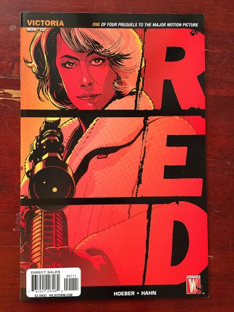 Red Prequel Comic (November 2010) Helen Mirren Cover