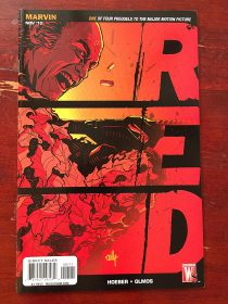 Red Prequel Comic (November 2010) John Malkovich Cover