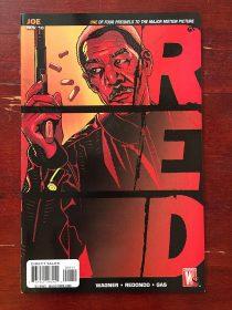 Red Prequel Comic (November 2010) Morgan Freeman Cover