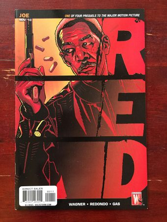 Red Prequel Comic (November 2010) Morgan Freeman Cover