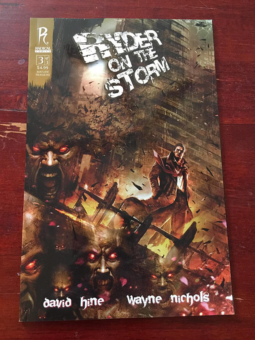 Ryder on the Storm Number 3 (April 2011) Radical Comics