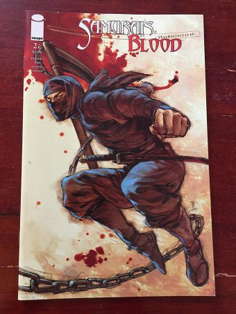 Samurai's Blood Number 2 (July 2011) Image Comics