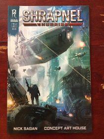 Shrapnel: Hubris Number 3 (November 2010) Radical Comics