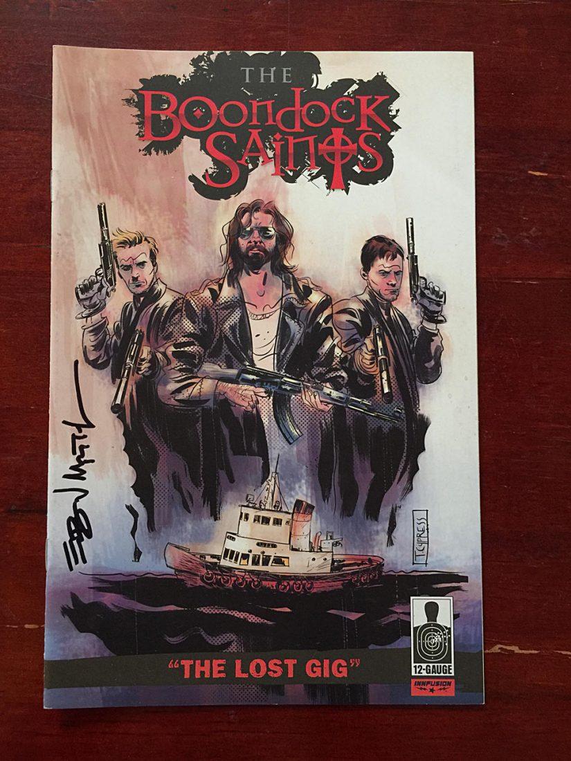 AUTOGRAPHED The Boondock Saints – The Lost Gig (April 2010) 12-Gauge Comics