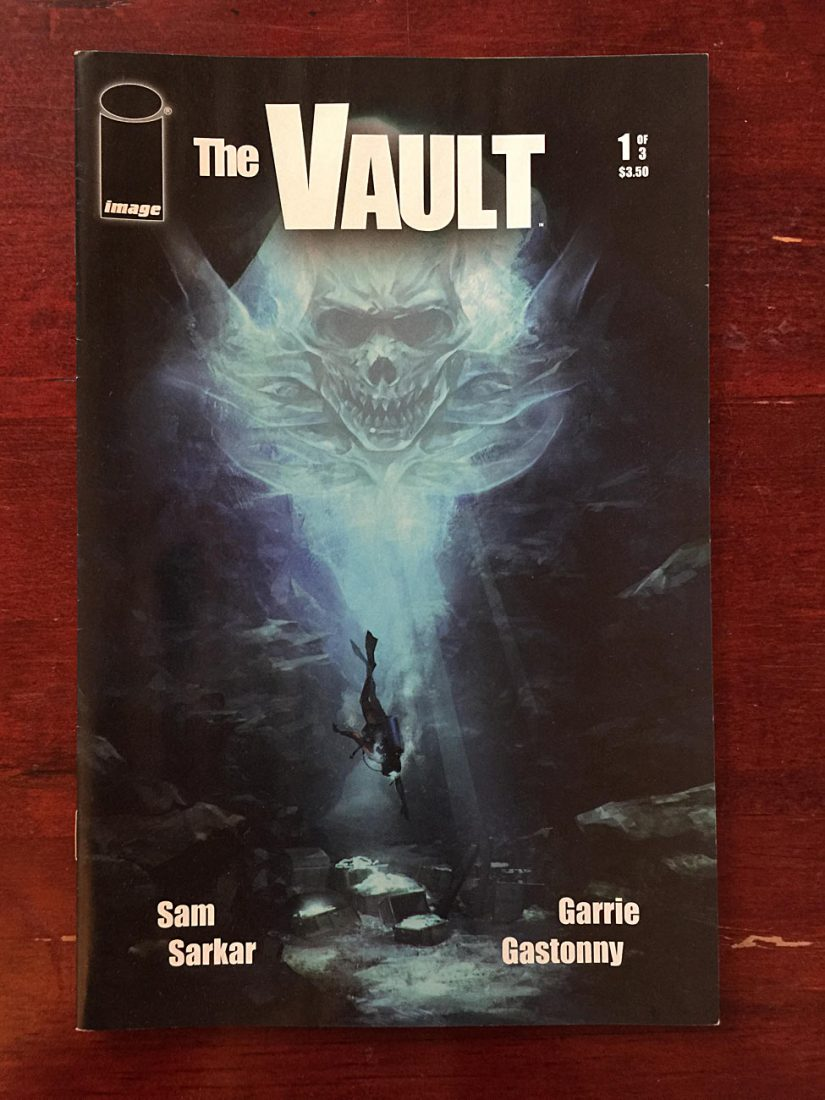 The Vault Number 1 (July 2011) Image Comics