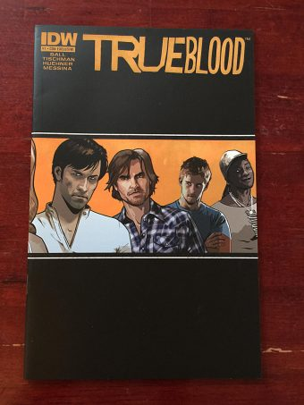 True Blood Comic Number 1 – First Printing Con Exclusive Variant Cover (July 2010) IDW Publishing